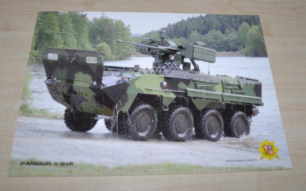 Pandur II 8x8 Armored Vehicles Army Brochure Prospekt