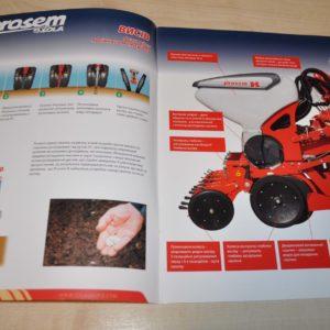 Sola Prosem Sowing technique Brochure Prospekt