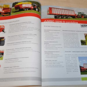 Pottinger Model Range 2013 Tractor Brochure Prospekt 64p