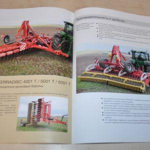 Pottinger Terradisc Disc Harrow Tractor Brochure Prospekt