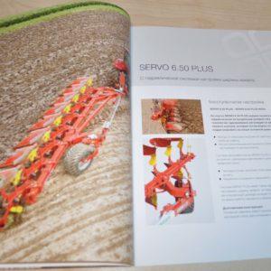 Pottinger Servo 6.50 Half-mounted ploughs Tractor Brochure Prospekt