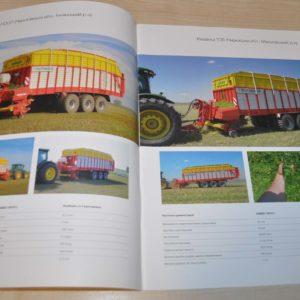 Pottinger Jumbo Baler Tractor Brochure Prospekt