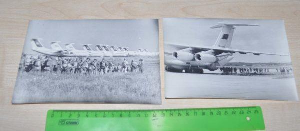 IL-76 military transport aircraft Soviet Army Lot USSR Photo