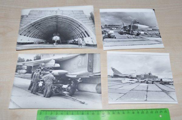 SU-24 military aircraft Soviet Army Lot USSR Photo