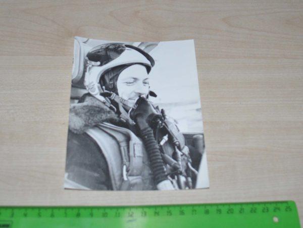 Soviet military plane pilot Aircraft Army USSR Photo