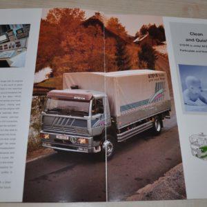 Steyr The Medium-Duty Truck Brochure Prospekt