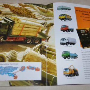 Steyr The Heavy-Duty Truck Brochure Prospekt