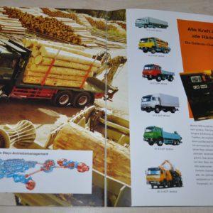 Steyr Schweren Truck Brochure Prospekt