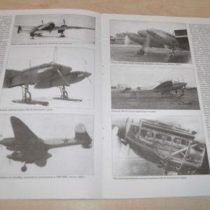 3/07 YAK-2 YAK-4 BB-22 Bomber Aircraft Russian USSR Military Soviet