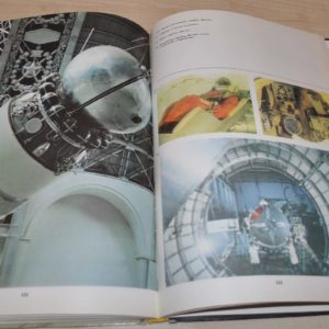 1972 Conquest of Space Rocket Missile Russian USSR Soviet Book Album Photo
