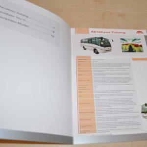 Yutong You Yi Mudan Bus Truck Dealer UA Brochure Prospekt