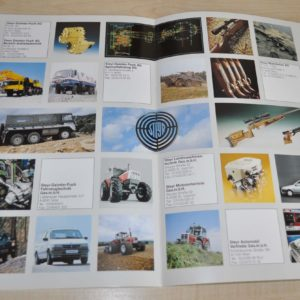 Steyr Daimler Puch Profile Company Truck Brochure Prospekt