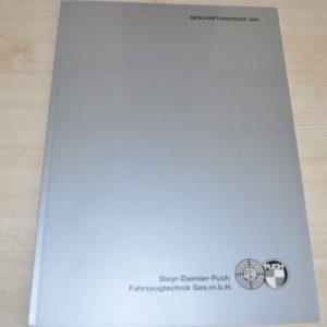 Steyr Daimler Puch Geschaftsbericht 1991 Annual Report Brochure Prospekt DE