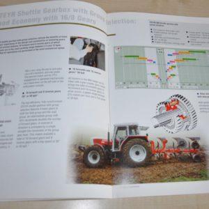 Steyr 900 Tractor Brochure Prospekt