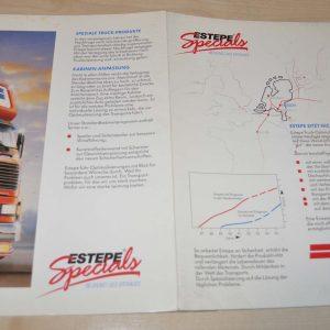 Estepe Special Truck Products Brochure Prospekt