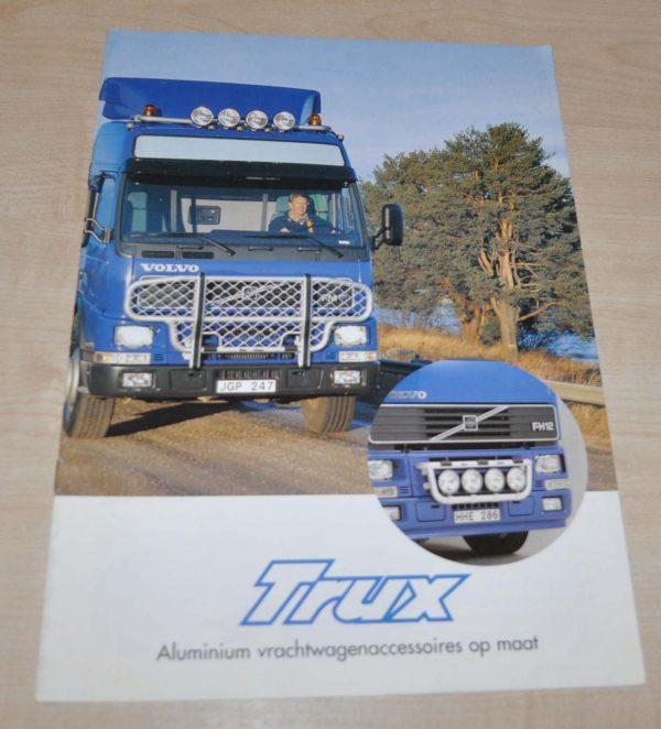 Trux Volvo Tuning Truck Brochure Prospekt