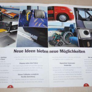 OmniNova Multirider Minibus Renault Master Brochure Prospekt
