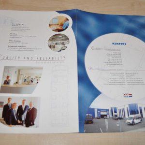 Kusters Custom Minibus Mercedes Benz Sprinter Brochure Prospekt