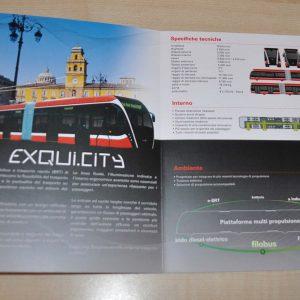 Van Hool Tram Exqui.City Brochure Prospekt