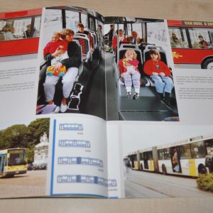 Van Hool Model Range Bus Trailer Magazine 87 Brochure Prospekt
