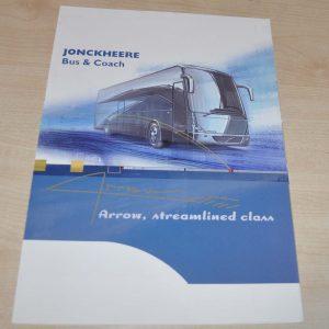 Jonckheere Bus & Coach Arrow Brochure Prospekt
