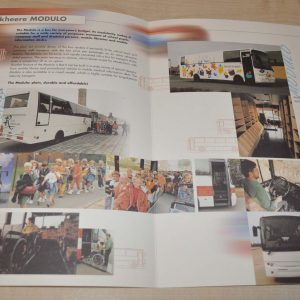 Berkhof Jonckheere Modulo Bus Brochure Prospekt