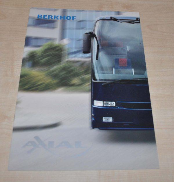 Berkhof Axial Bus Brochure Prospekt