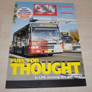 Coach and Bus Week 1996 Magazine Brochure Prospekt