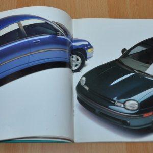 1995 Plymouth Neon Sales Brochure Prospekt