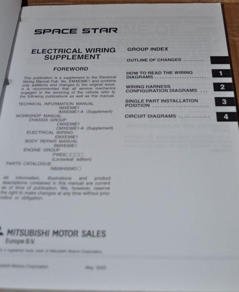 1999 mitsubishi mirage factory service repair workshop manual instant download years 99