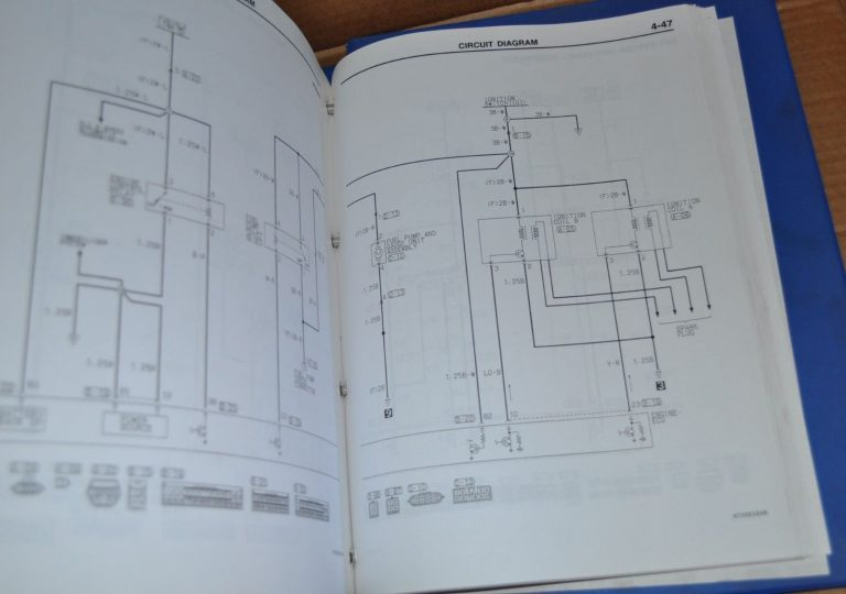 mitsubishi carisma 1996 - 2001 electrical wiring workshop manual original  book - auto brochure  auto brochure