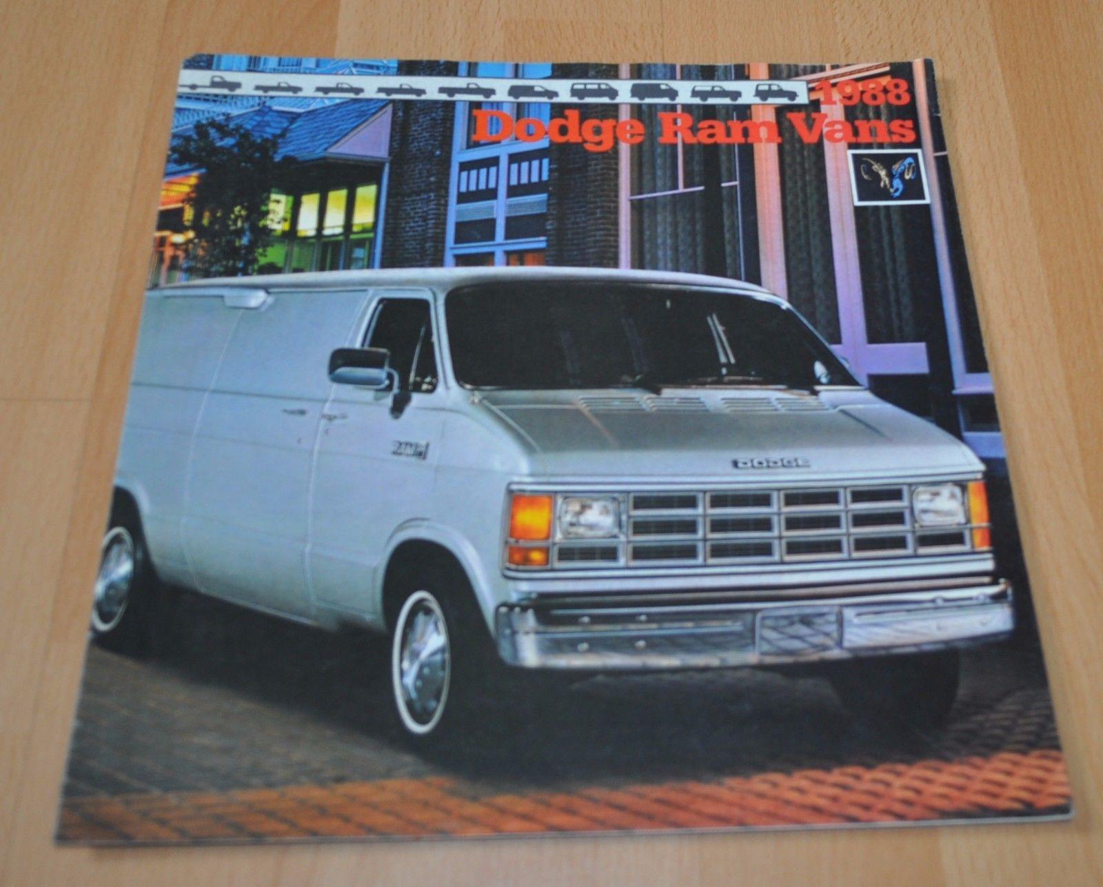 1988 dodge van