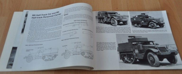 M3 Half-Track in Action Armor Squadron 34 Army Book