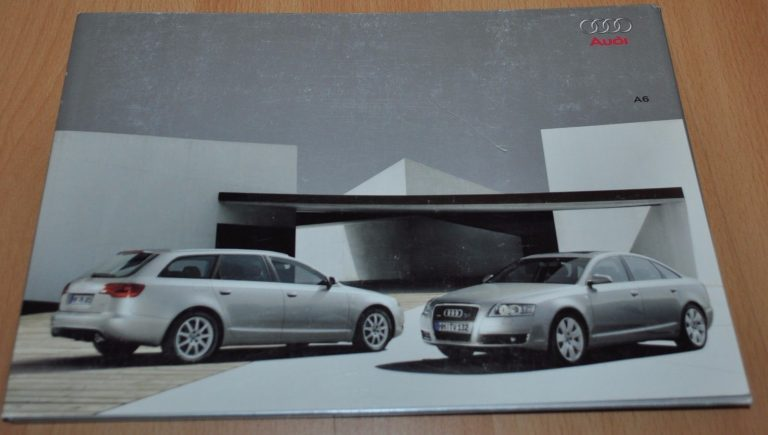 audi a6 brochure prospekt 2005 4 04 11 04 russian edition folder rh auto brochure com audi a6 manual transmission audi a6 manual 2000